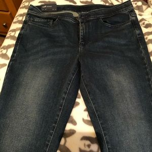 JJILL 5 pocket denim leggings. Size 8